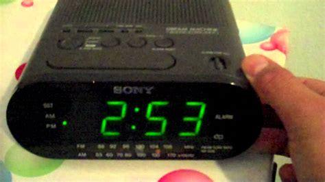 mothers sony dream machine amfm alarm clock radio icf  youtube