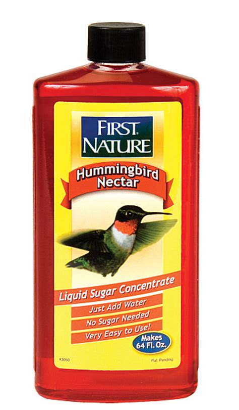 first nature red concentrate hummingbird nectar 16 oz 3 pack