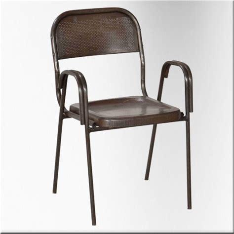Chaise Tole by Vente De Chaises En T 244 Le