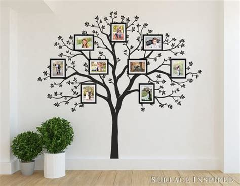 tree wall decals removable wall decals personalized large