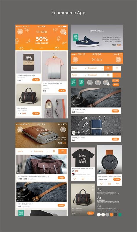 Mobile Layout Design Inspiration | 1000 images about commercial apps on pinterest
