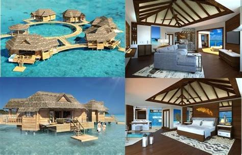 the water bungalows sandals 25 best images about sandals royal caribbean jamaica on