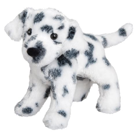stuffed dalmatian puppy dooley the plush dalmatian by douglas