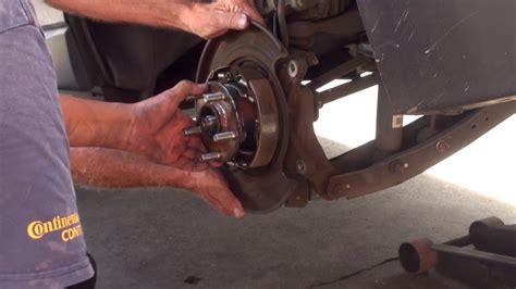 Subaru Forester Rear Wheel Bearing by 2014 Subaru Forester Rear Wheel Bearing Hub Replacement