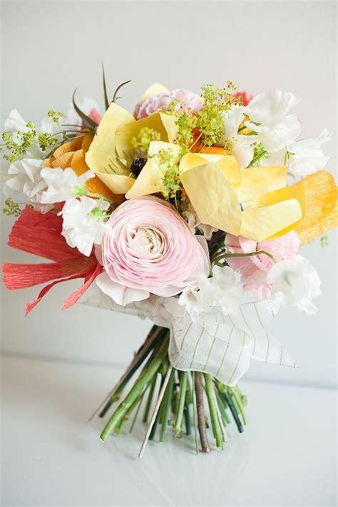 Make Paper Flower Bouquet - paper flower wedding ideas diy paper flowers 100 layer