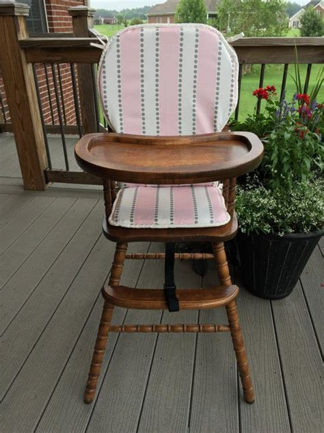 grey wooden high chair 1000 images about wooden baby high chair cover on
