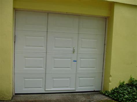 pass through garage door garage and shed