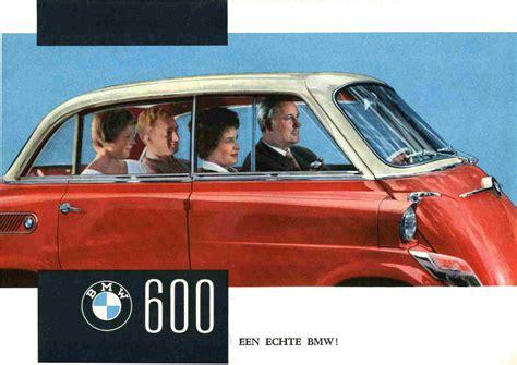 1957 59 bmw 600 brochure