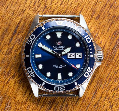 Orient Black 2 orient ii review dive watches