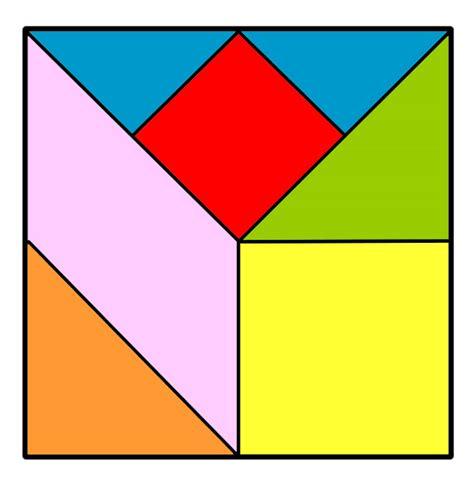 tangram cuadrado juego tangram