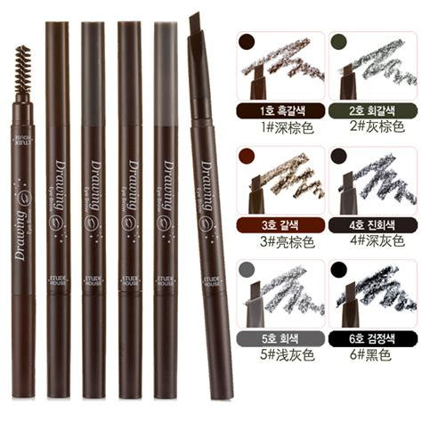 Etude House Drawing Eyebrow No 6 produktanmeldelse etude house drawing eye brow 04
