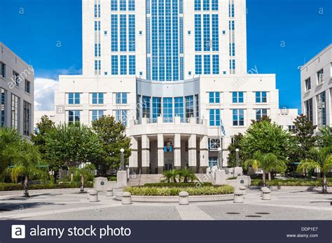 Orange County Civil Search Orange County Courthouse In Downtown Orlando Florida Stock Photo Royalty Free Image