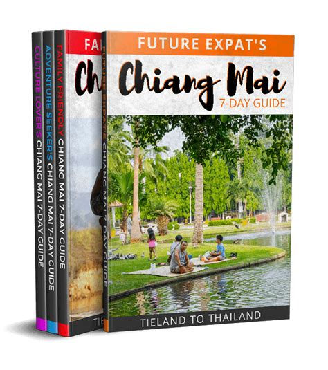 family friendly guide to chiang mai tieland to chiang mai bundle buy 3 guides get 1 free tieland to