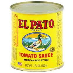 el pato mexican style tomato sauce 7 75 oz pack of