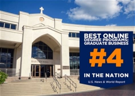 Villanova Mba Reputation by Villanova School Of Business Graduate Programs