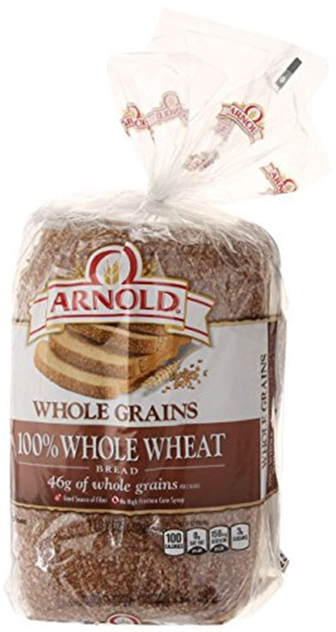 whole grains needed per day arnold whole grains classic 100 whole wheat bread 24 oz