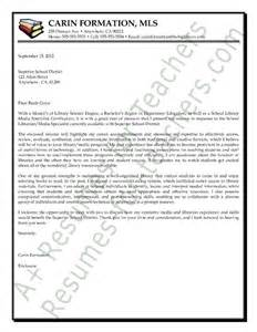 Elementary Media Specialist Cover Letter by 1000 Images About And Principal Cover Letter Sles On Thanksgiving