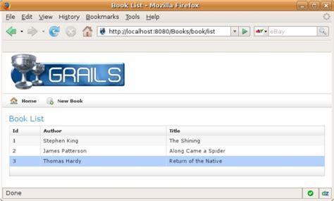 tutorial grails netbeans introduction to the grails web framework