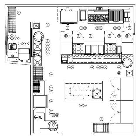 cafe operation layout restaurant kitchen floor plan layouts kitchen cabinets