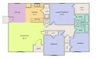 Kitchen Dining Room Floor Plans by Kitchen And Dining Room Open Floor Plan Kitchen Dining