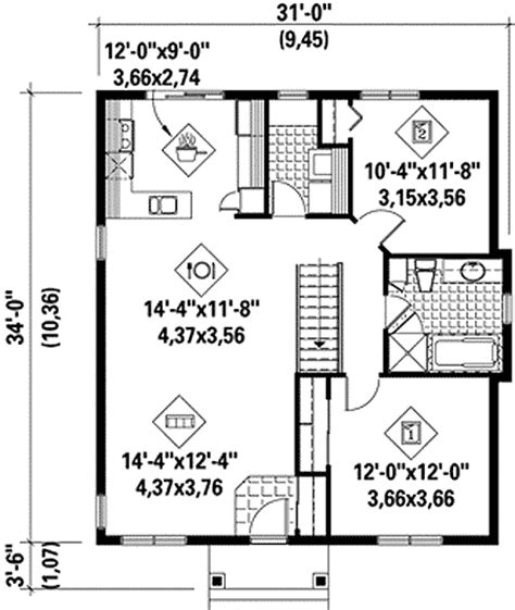 2br house plans plan 80632pm cozy two bedroom house plan cozy bedrooms and traditional