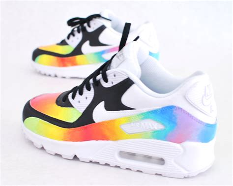 nike air max shoes custom painted color blast nike air max 90 running
