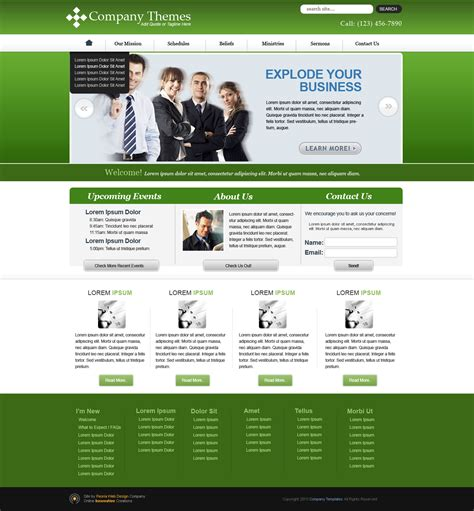best website templates for business website template design ideas www imgkid the image