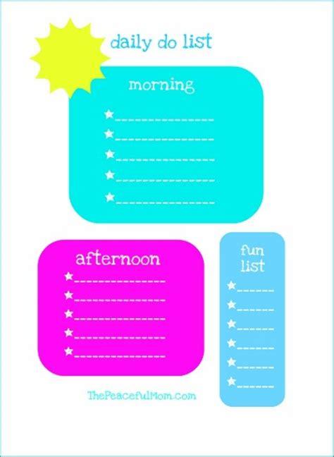 printable children s daily planner kids daily planner checklist printable 24 7 moms