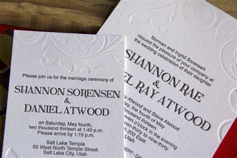 wedding invitations riverside ca wedding invitation