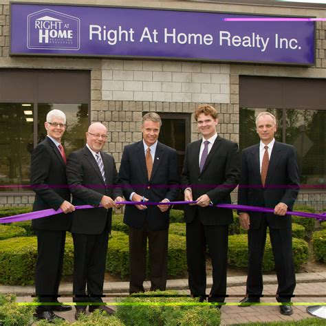 right at home realty opens in whitby and burlington rem