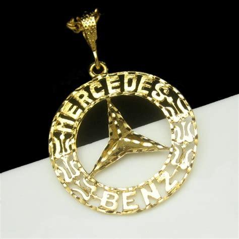 mercedes logo jewelry
