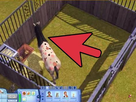 easy ways  adopt  unicorn   sims  pet pc