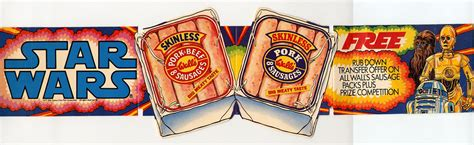 Sausage Shelf by Wall S Sausage Shelf Talker Wars Collectors Archive