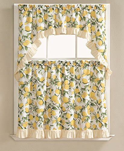 lemon kitchen curtains compare price lemon kitchen curtains on statementsltd com