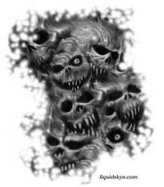 free download demon skull tattoo design tattoo designs skull