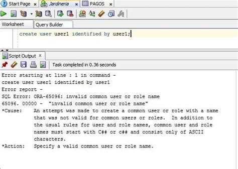 invalid name pattern oracle soluci 243 n a ora 65096 invalid common user or role name en
