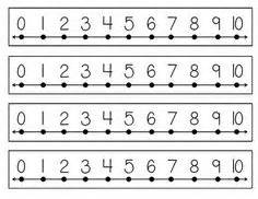 printable number line for desk 1000 images about math on pinterest place values ten
