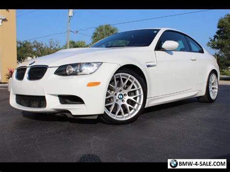 2013 Bmw M3 For Sale by 2013 Bmw M3 Base Coupe 2 Door For Sale In United States