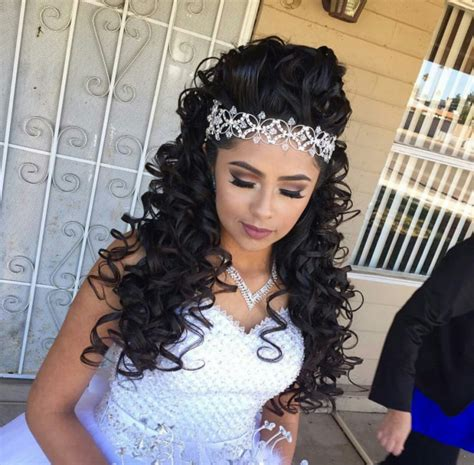 curly hairstyles quinceanera long curly hairstyles for quinceaneras hairstyles model