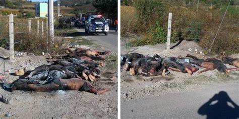imagenes fuertes del mundo narco im 225 genes fuertes de los once decapitados y semis quemados