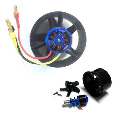 rc ducted fan engine aliexpress com buy 64mm duct fan 4500kv brushless