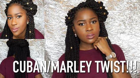marley vs cuban hair cuban marley twist info my thoughts mona b youtube