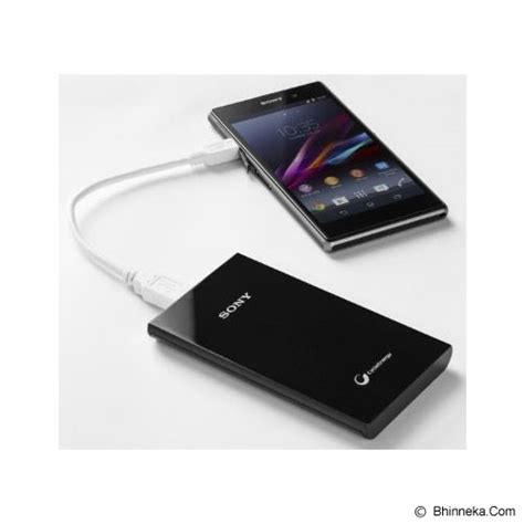 V Powerbank 5000mah V503 Black jual sony portable charger 5000mah cp v5a black murah