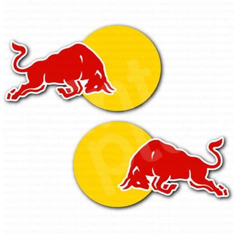 Bulls Aufkleber Set by Red Bull Racing Car Sticker Set Automotive Stickers