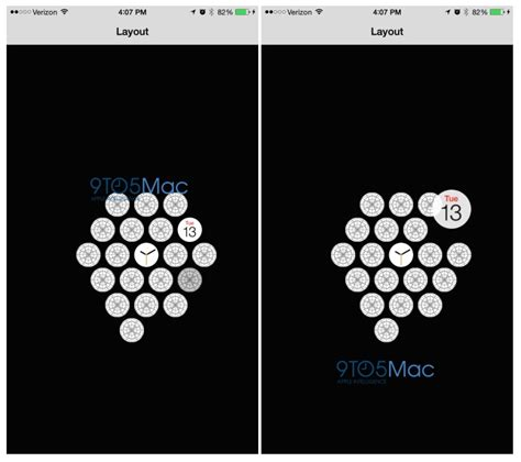 apple watch app layout on iphone apple watch svelata l icona dell app per iphone layout e
