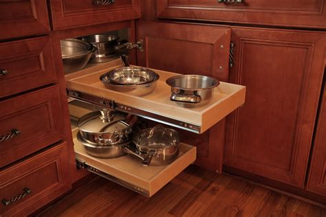 corner cabinet pull out shelf kitchen blind corner solutions from shelfgenie of