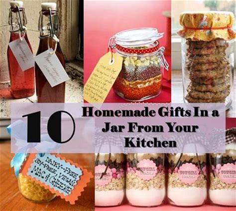 Kitchen Gifts In A Jar Recipes Projects More 10 Gifts In A Jar From