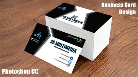 card in photoshop how to design business card in adobe photoshop cc graphic