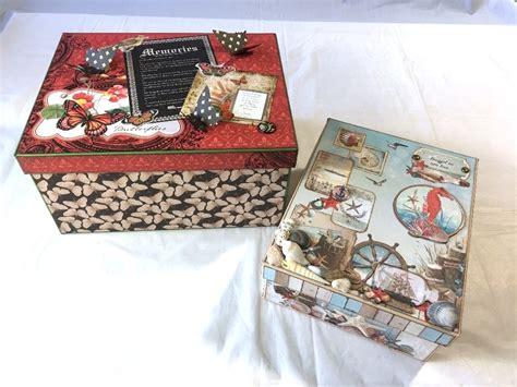 Handmade Memory Box - handmade memory box w new cutting guide creator s