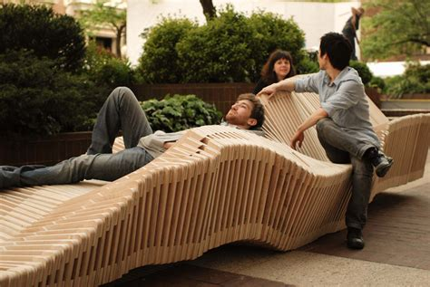 kinetic bench polymorphic columbia students unveil a transforming